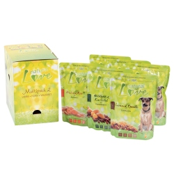 alsa natural Love Multipack 2, 90 x 300 g, Hundefutter - alsa-hundewelt