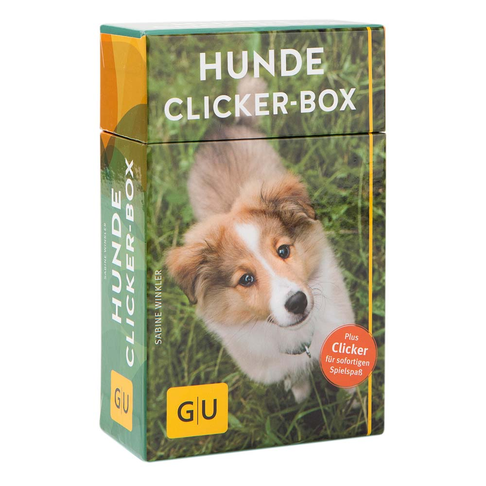 Hunde Clicker-Box, Begleitheft, 36 Lernkarten, ...