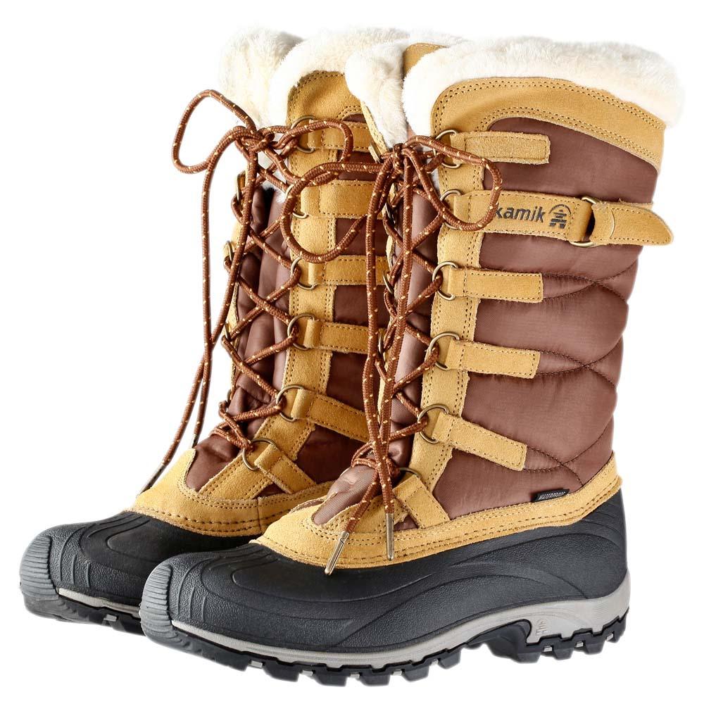 Kamik - Vallée De La Neige Des Femmes - Chaussures D'hiver Taille 9 Noir UzWapZ