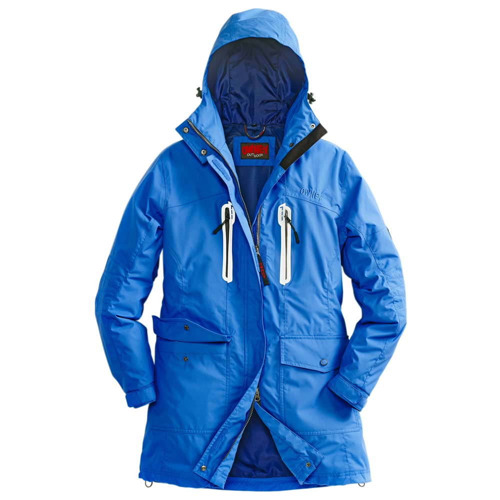 Owney arctic parka damen mantel blue
