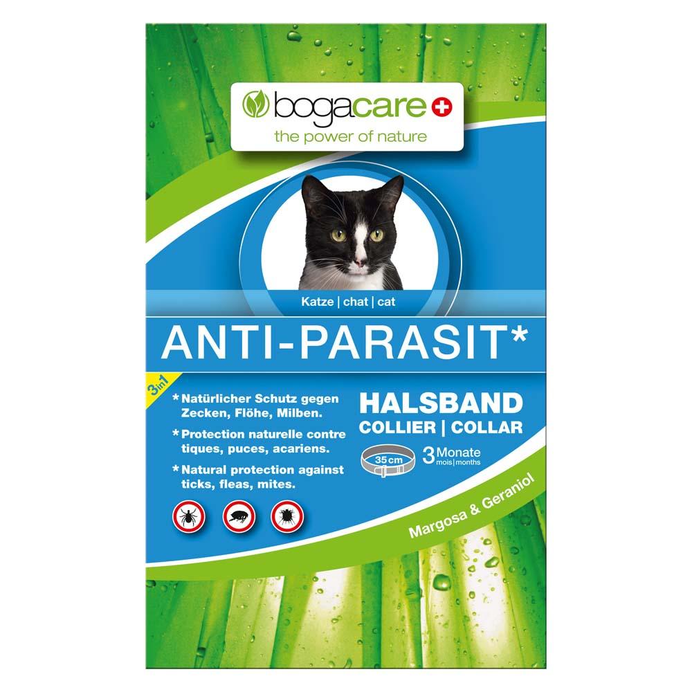 bogacare® Katzenhalsband Anti-Parasit