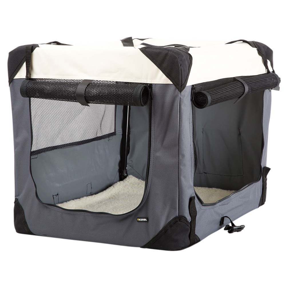 Hunde-Transportbox Journey grau-beige, Gr. 2 - alsa-hundewelt