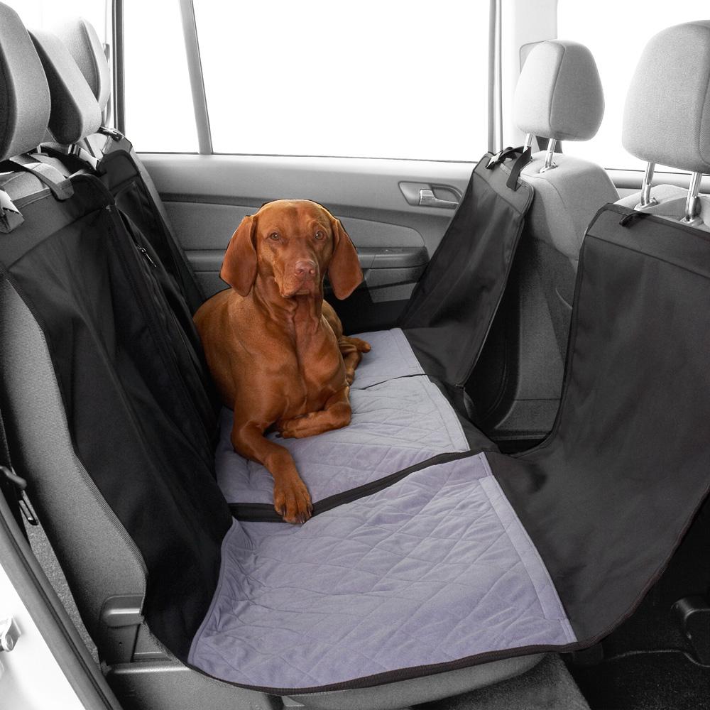 HUNTER Hundedecke Travelstar schwarz-grau - alsa-hundewelt