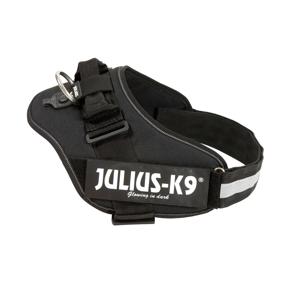 Julius-K9® Hundegeschirr Power IDC schwarz, Gr. 1 - alsa-hundewelt