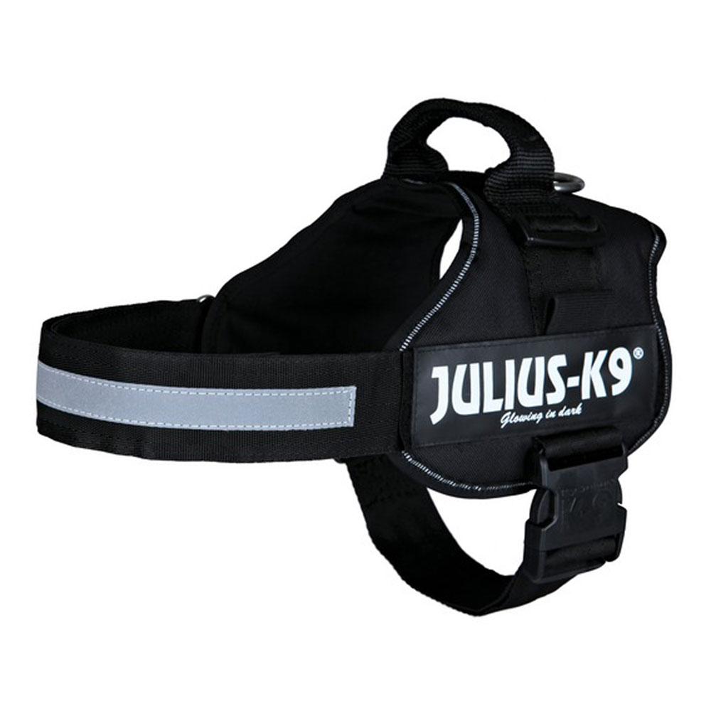 Julius-K9® Hundegeschirr Power schwarz, Gr. 1 - alsa-hundewelt