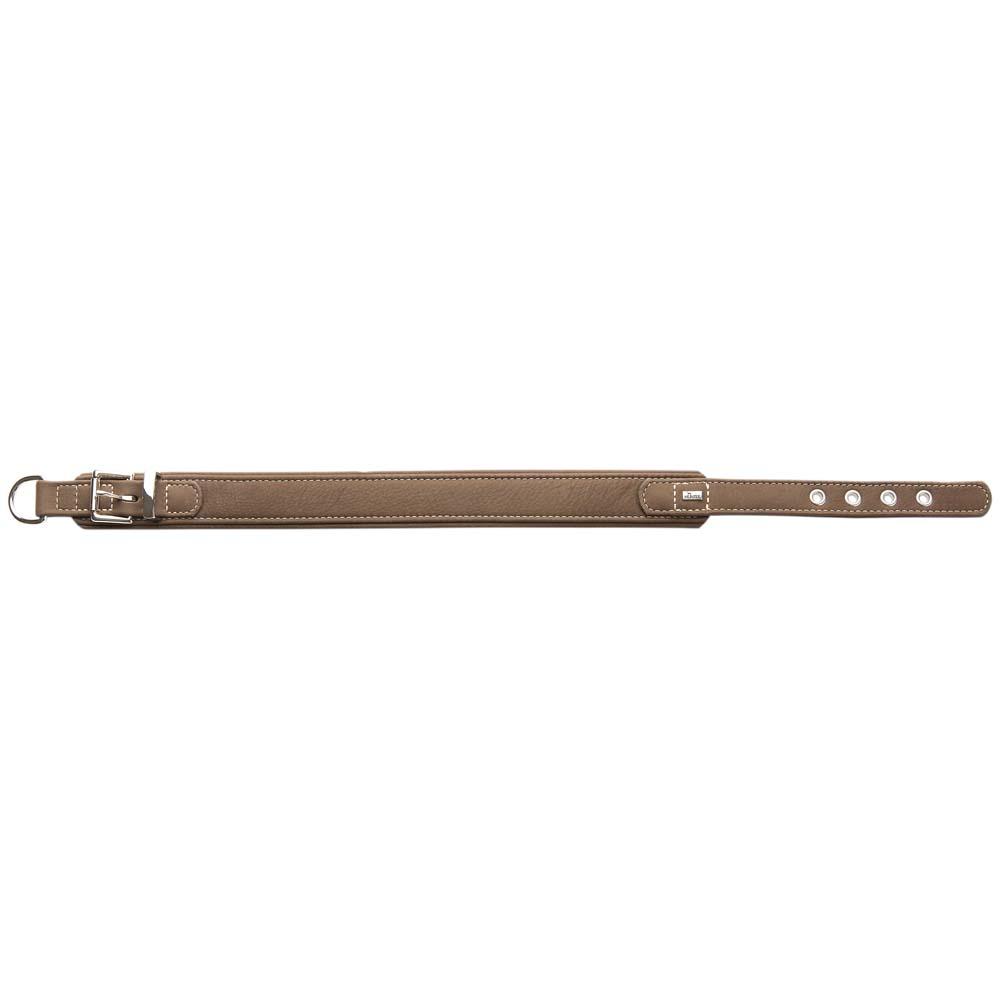 HUNTER Hunde-Halsband Hunting Comfort braun, Gr. 1 - alsa-hundewelt