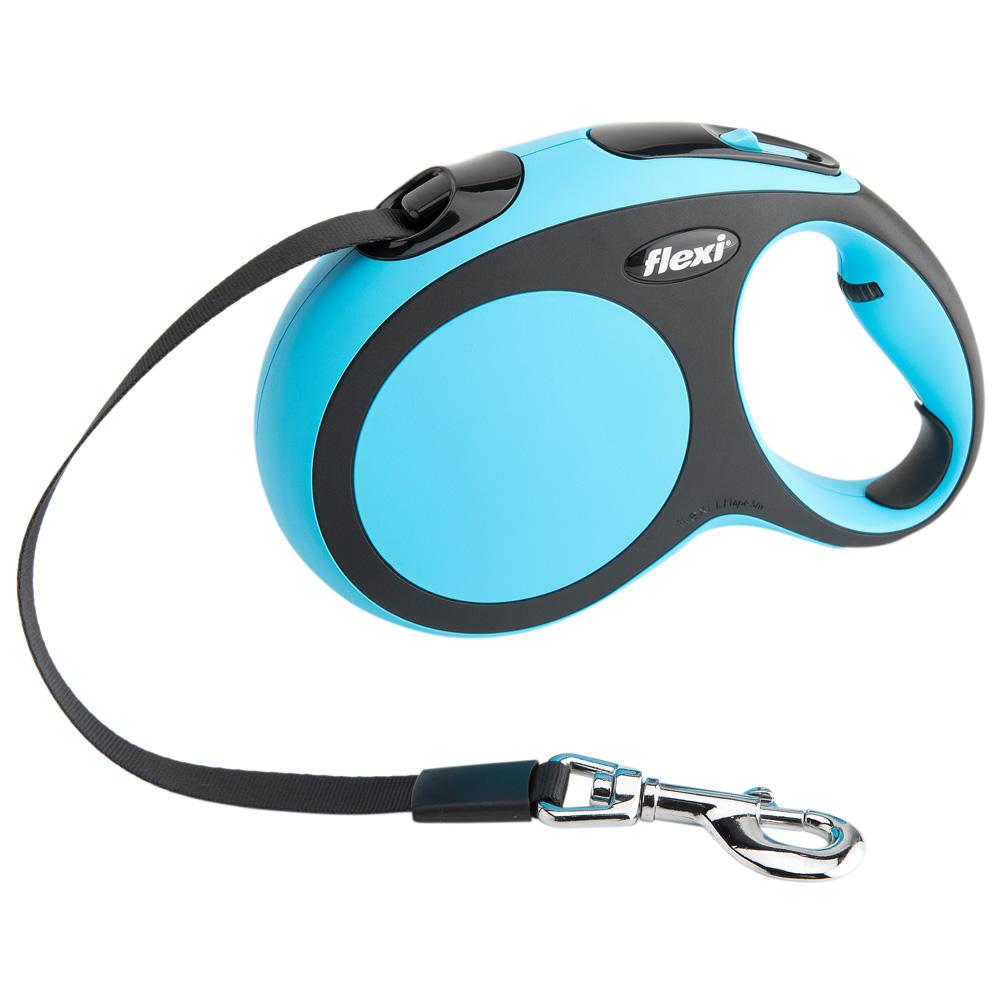 flexi Hundeleine New Comfort Gurt blau, Gr. 4 - alsa-hundewelt