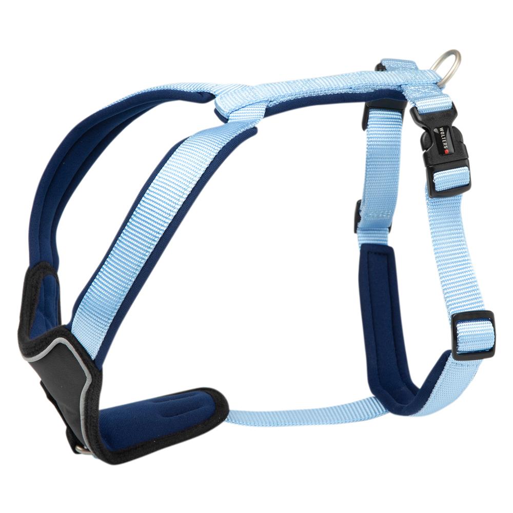Hundegeschirr Professional Comfort hellblau, Gr. 1 - alsa-hundewelt