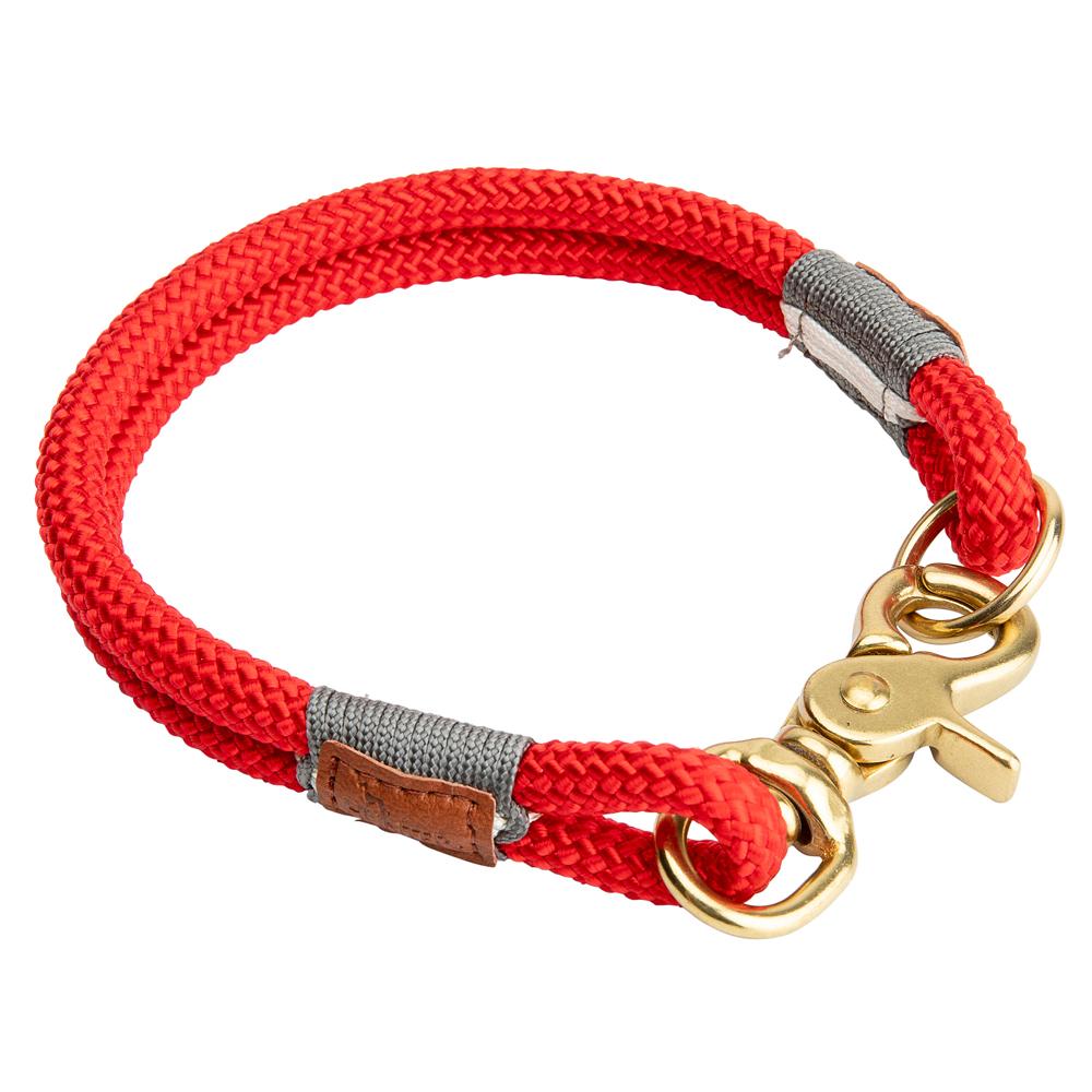 HUNTER Hundehalsband Oss rot, Gr. 7 - alsa-hundewelt