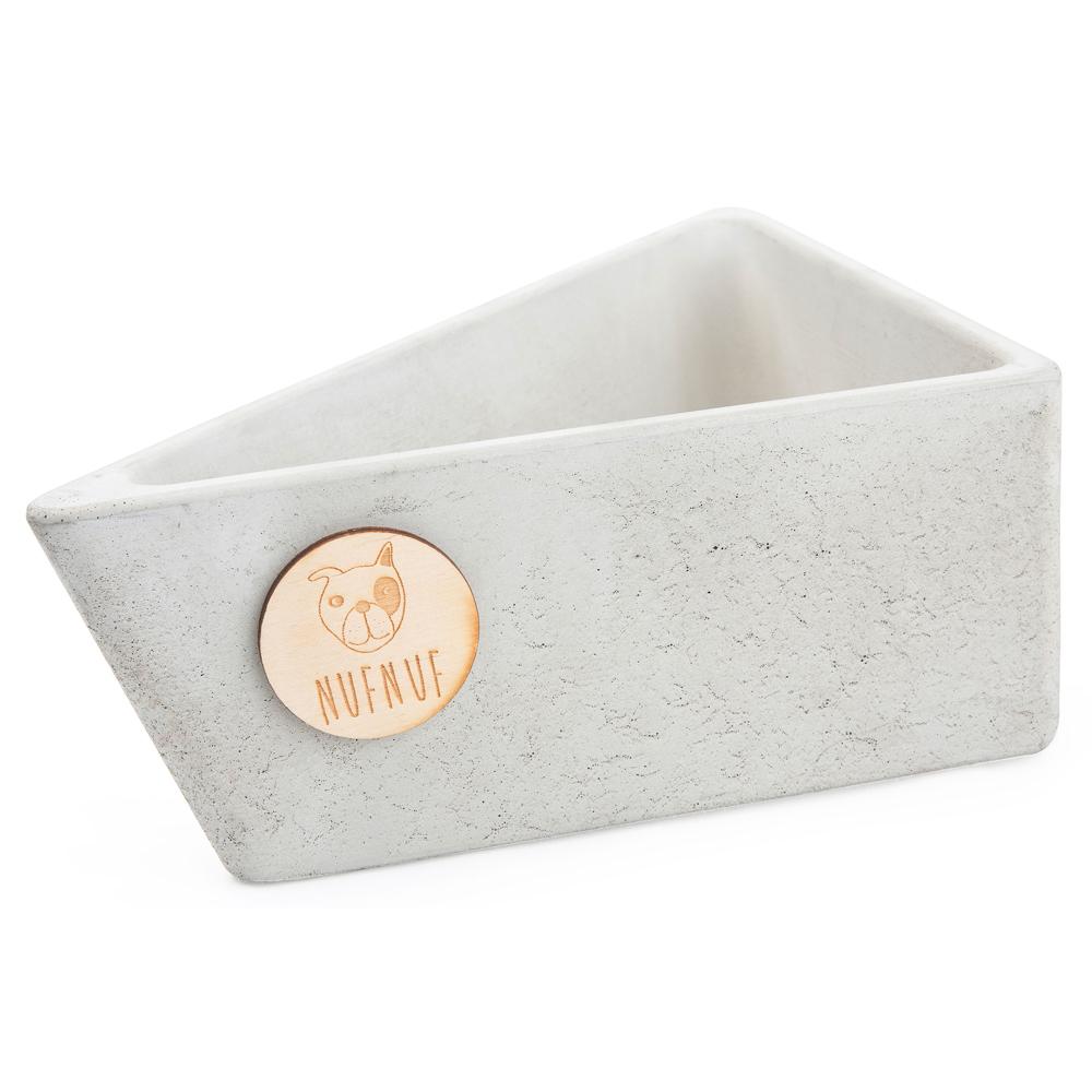 NUFNUF Hundenapf Stone Bowl grau, Gr. 1 - alsa-hundewelt