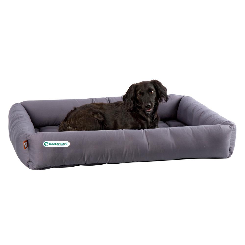 Hundebett Doctor Bark grau, Farbe: grau, Gr. 1 - alsa-hundewelt