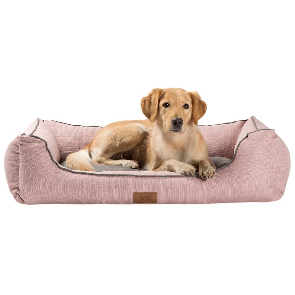 alsa-brand Hundebett Rom rosa, Gr. 1 - alsa-hundewelt