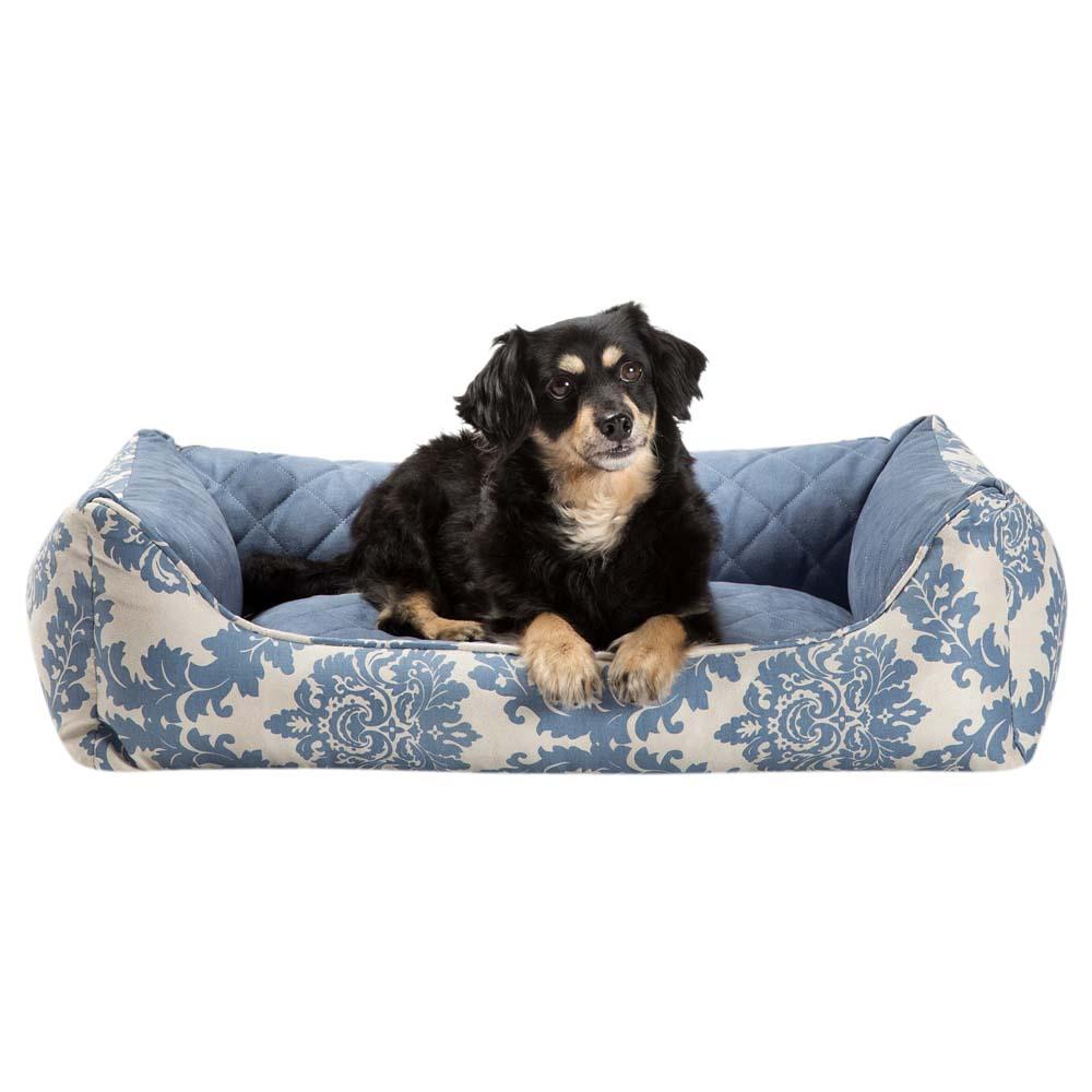 alsa-brand Hundebett Barock blau-beige, Gr. 3 - alsa-hundewelt