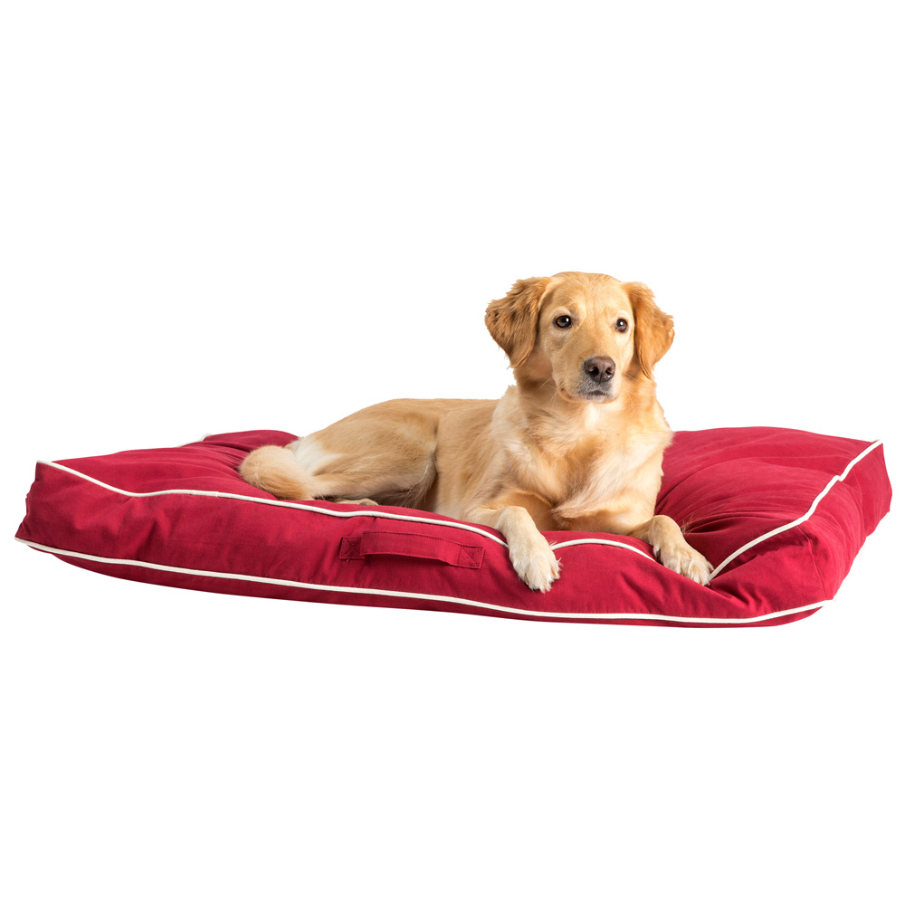 Hundekissen Nano Star rot, Gr. 1 - alsa-hundewelt