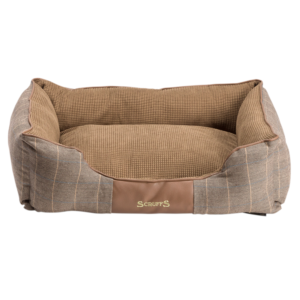 Scruffs Hundebett Windsor braun, Gr. 3 - alsa-hundewelt
