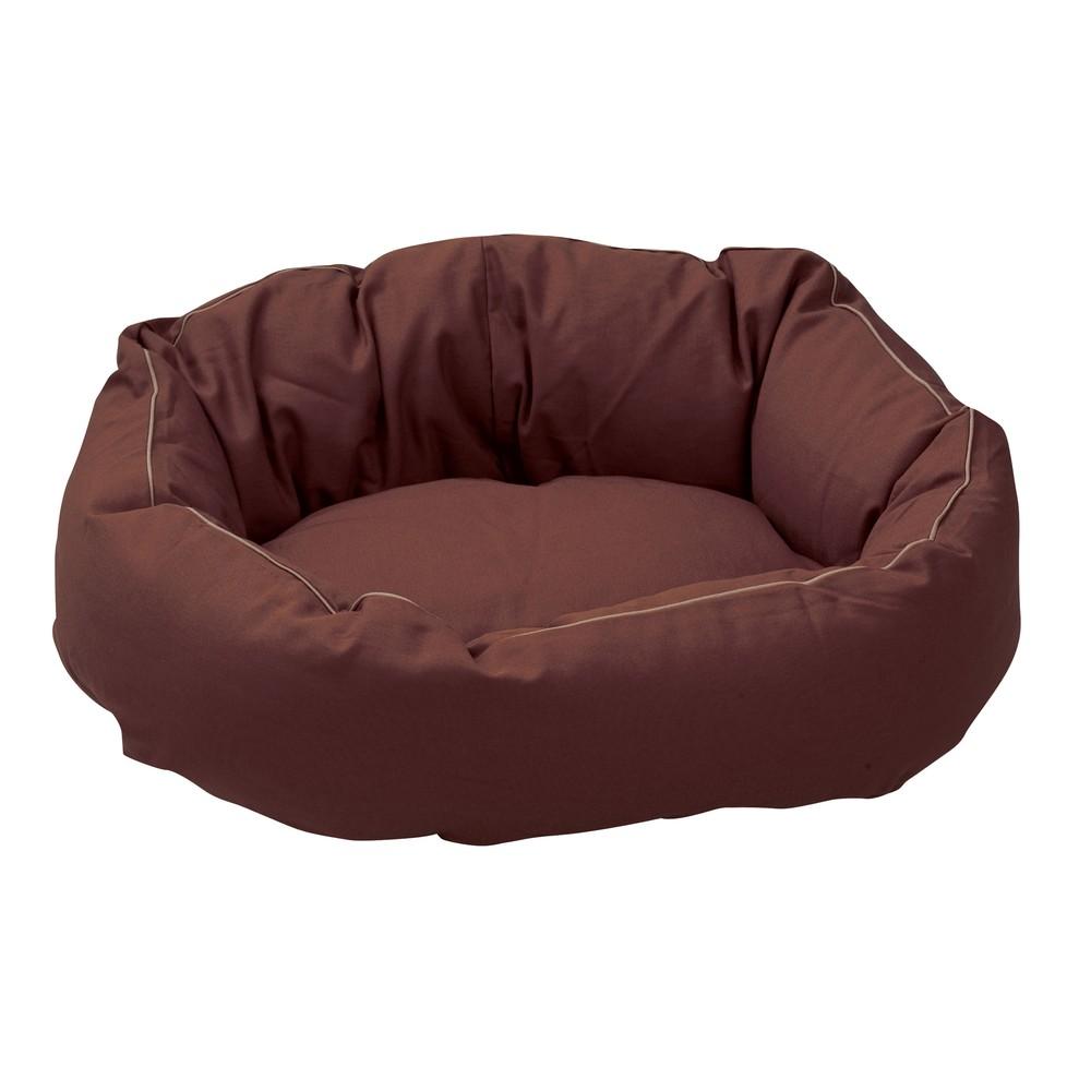 Ersatzbezug Hundebett Cocoon braun, Gr. 2 - alsa-hundewelt