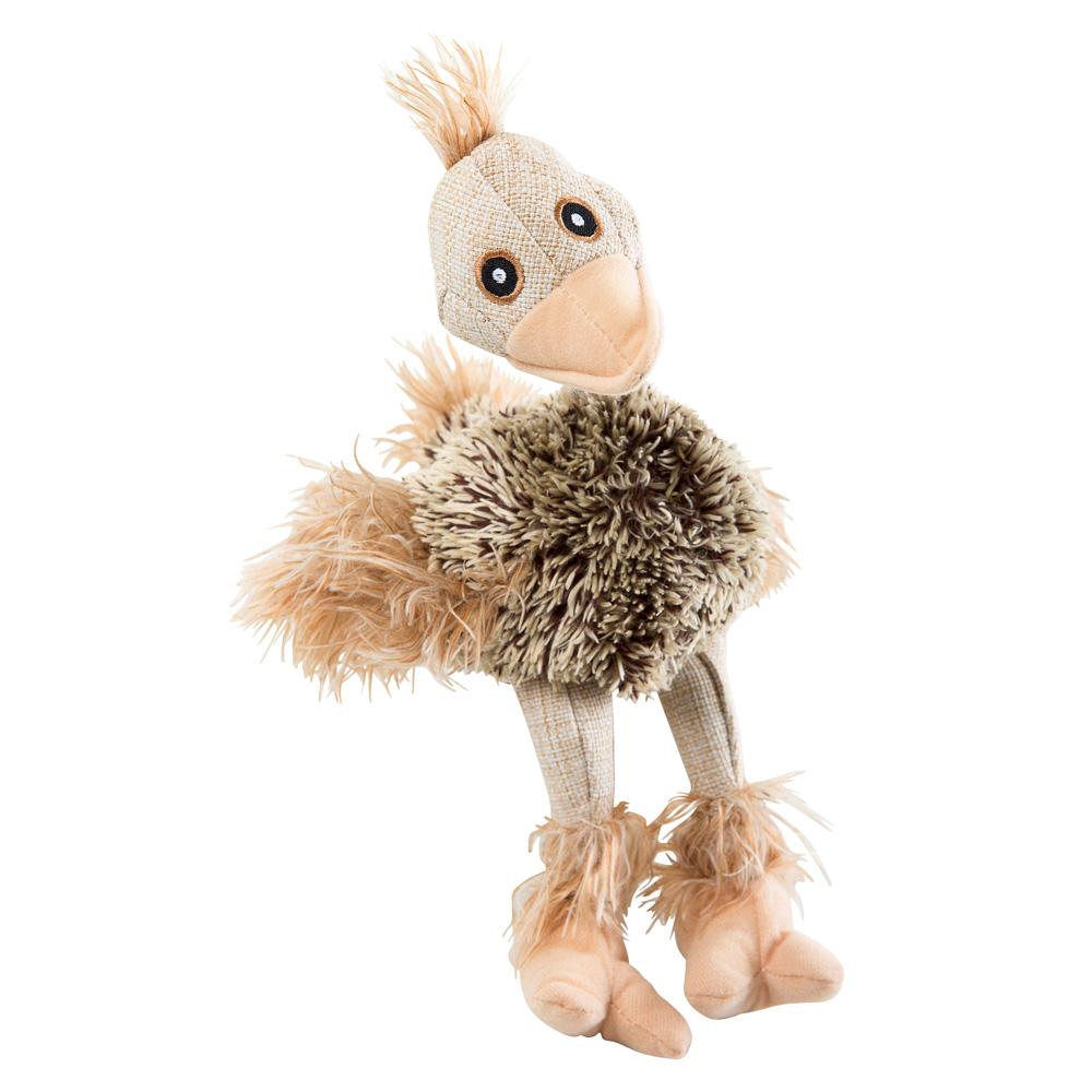 Plüsch-Spielzeug Crazy Bird Beige