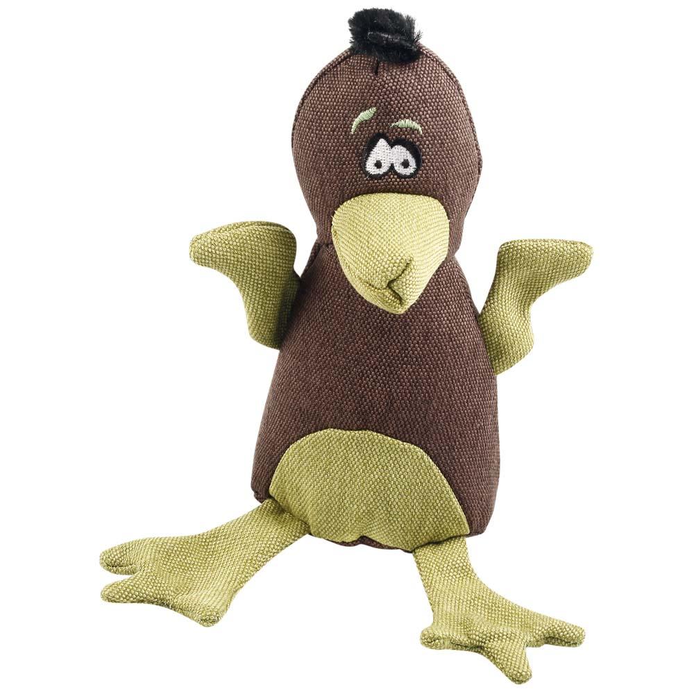 HUNTER Hunde-Spielzeug Canvas Bird Braun