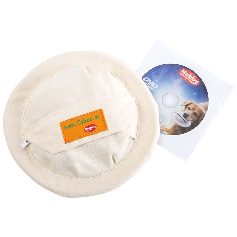 Nobby Hunde-Frisbee Flybee Beige