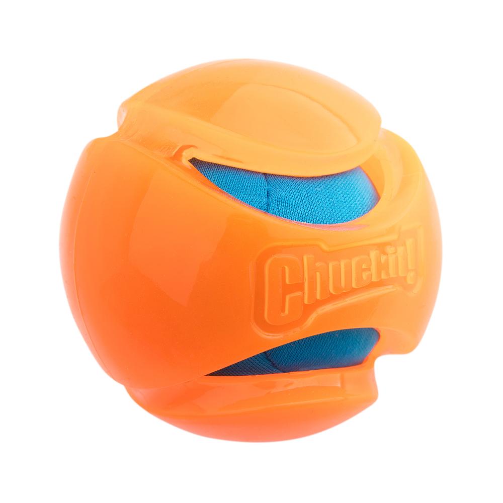 Chuckit! Hundeball Hydro Squeeze Hundeball Oran...