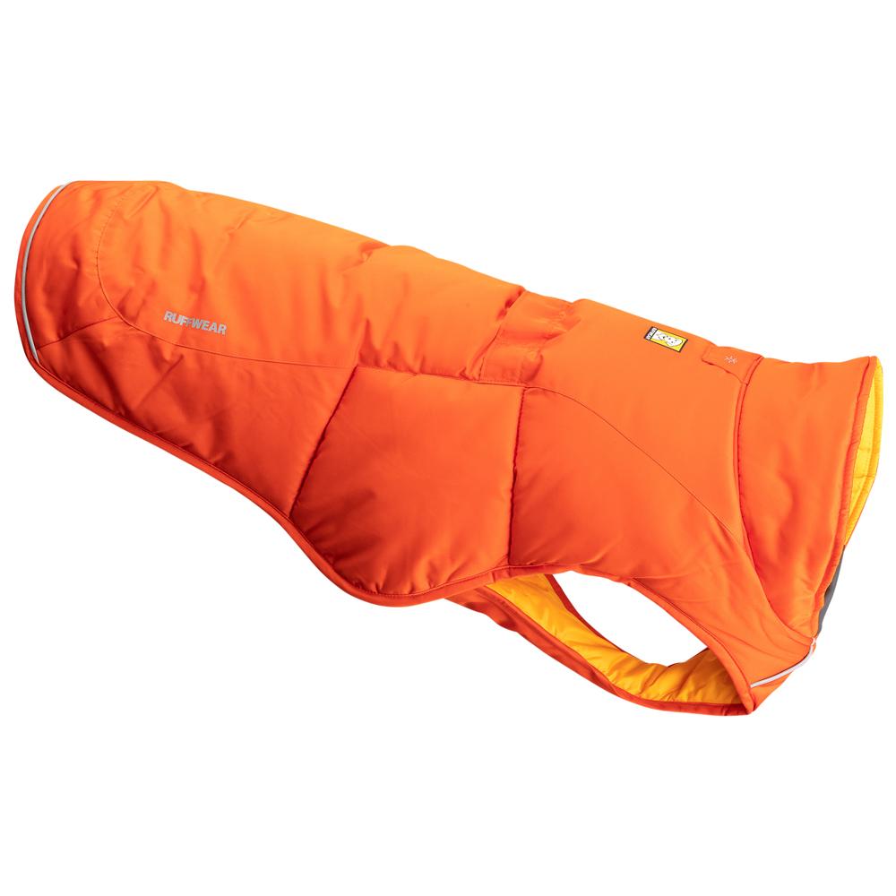 Ruffwear Hunde-Wintermantel Quinzee orange, Gr. 1 - alsa-hundewelt