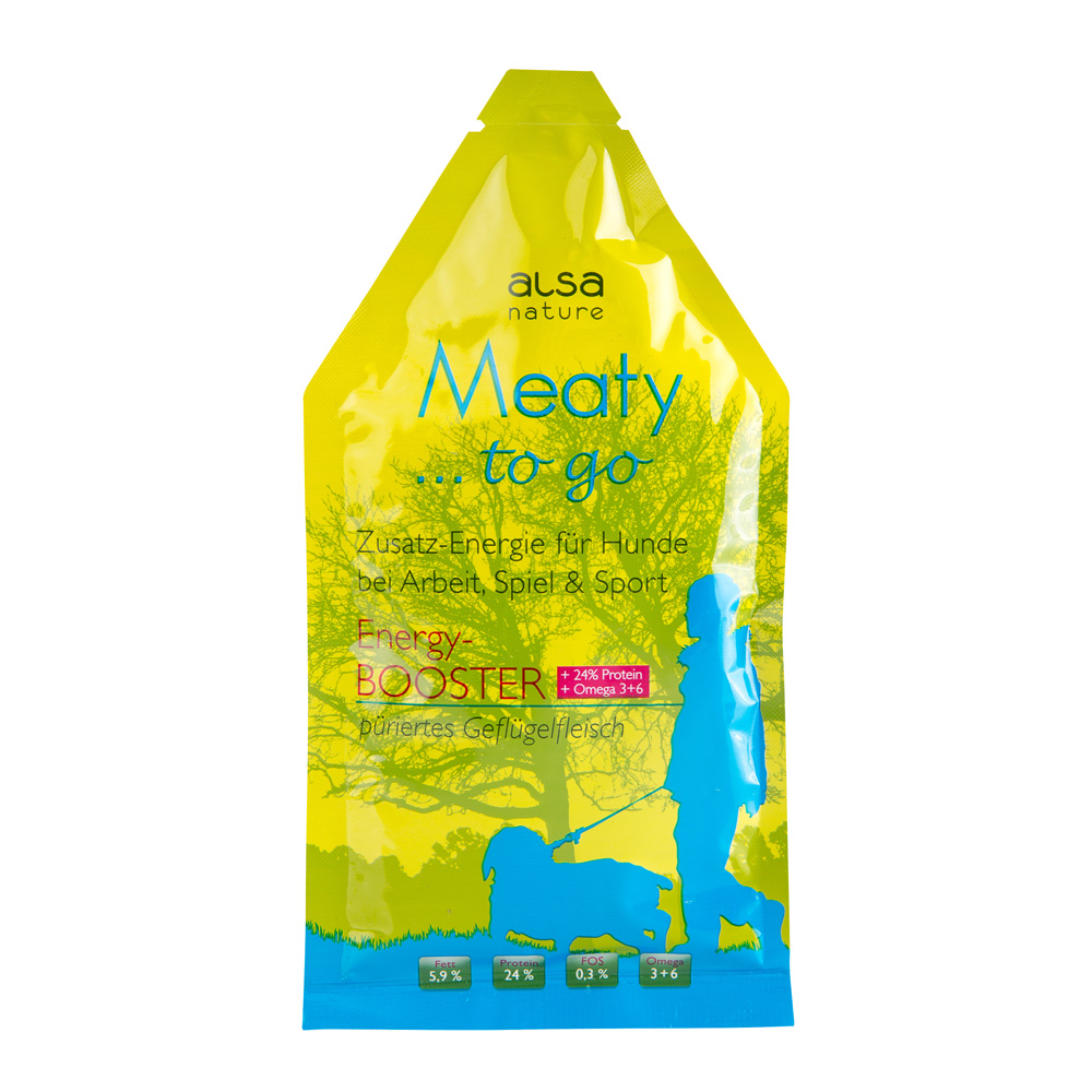 alsa-nature Meaty to go Energy-BOOSTER, 12 x 85 g
