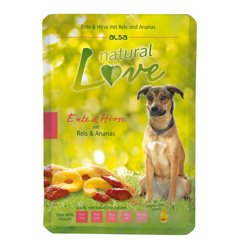 alsa natural Love Ente & Hirse mit Reis und Ana...