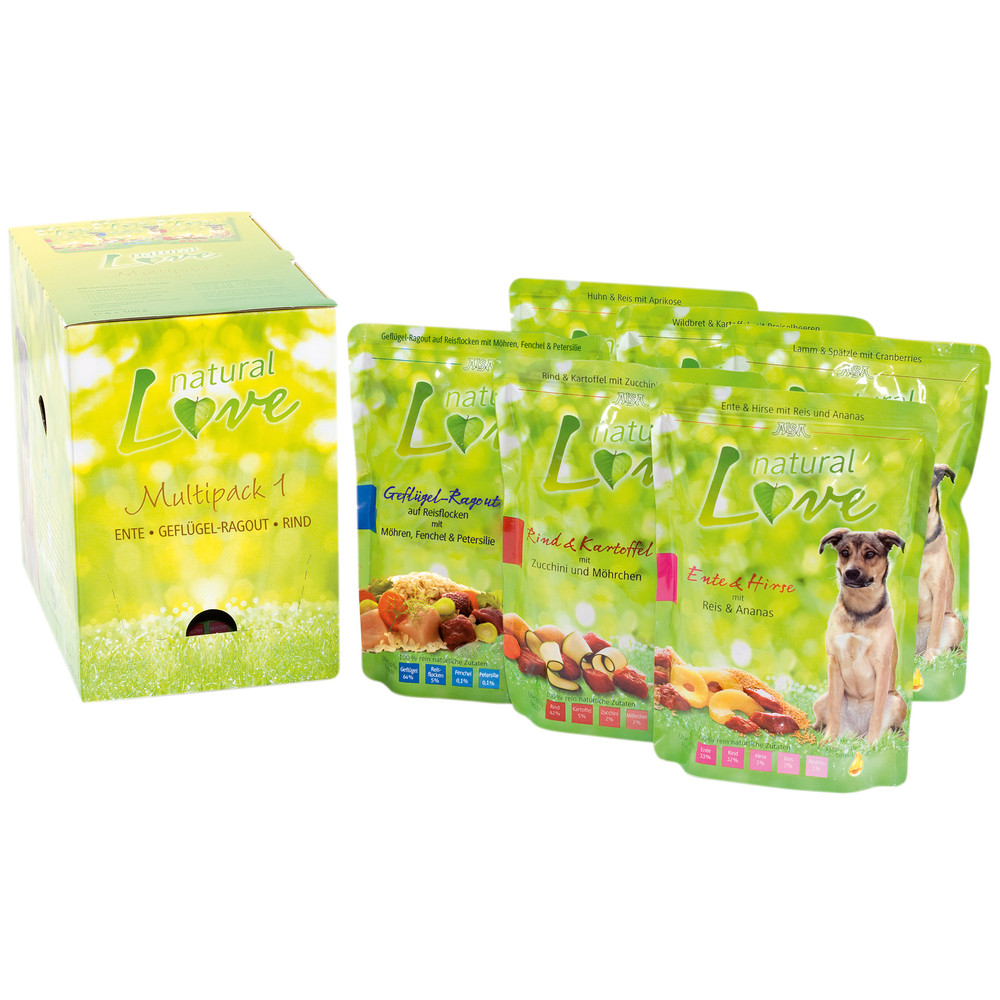 alsa natural Love Multipack 1, 60 x 300 g