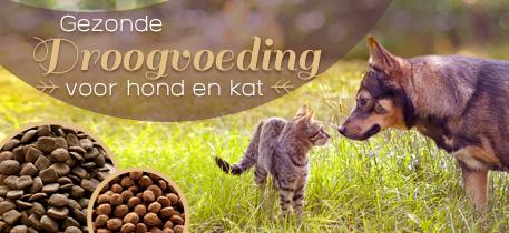 Gezonde Droogvoeding voor hond en kat