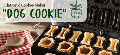 Clatronic Cookie-Maker Dog Cookie