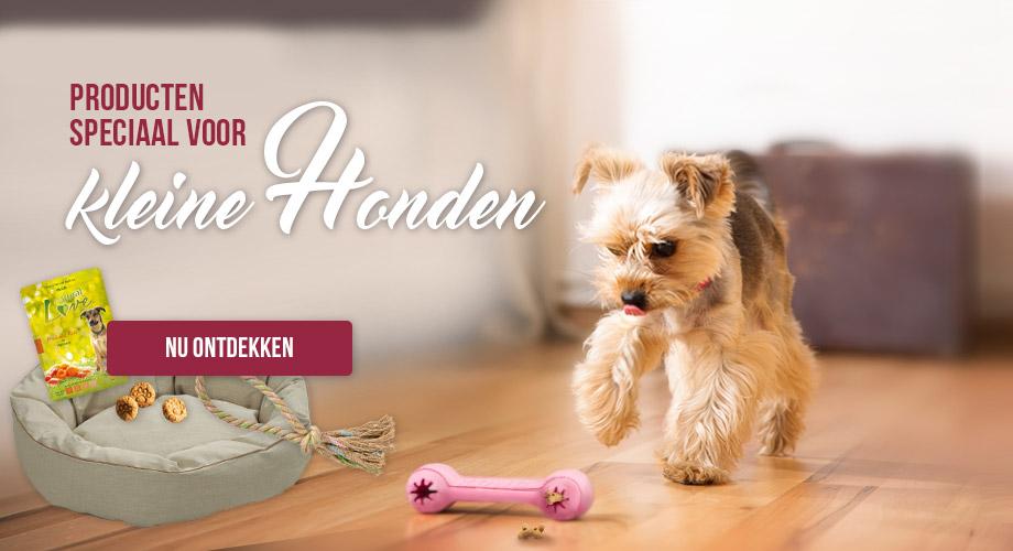 Producten speciaal voor kleine honden